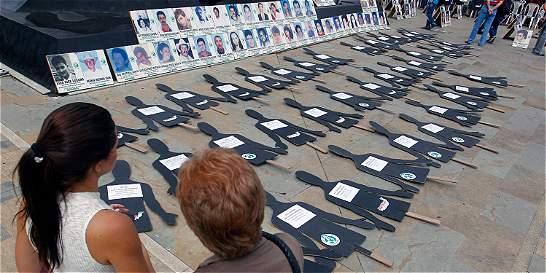 Antioquia, la región con más casos de desaparición forzada