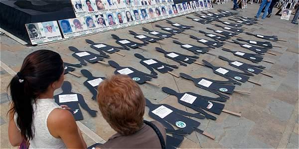 Entre el 2005 y el 2015 se denunciaron casi diez mil víctimas de desaparición forzada.
