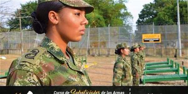 Por primera vez se incorporaran mujeres para ir a combate