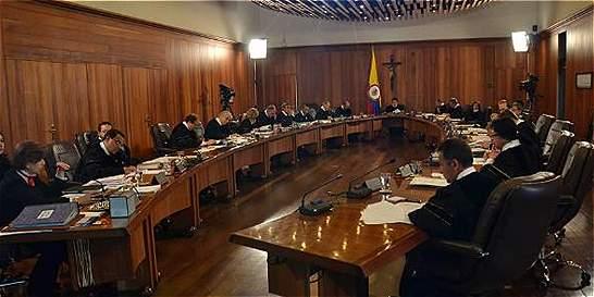 Corte radicará proyecto para garantizar doble instancia judicial