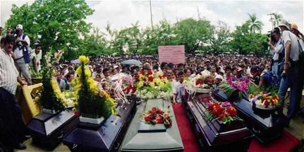 Ocho personas fueron asesinadas y desaparecieron de manera forzada a otras dos. Aún no se encuentran sus restos.