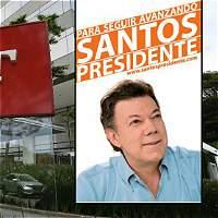 El rastro de afiches de campaña de Santos que habría pagado Odebrecht