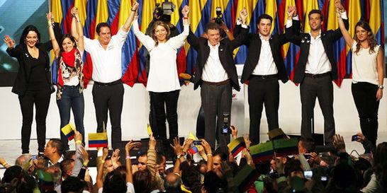 'Desterraremos el odio de nuestra democracia': Santos en su discurso