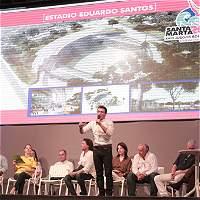 Garantizan escenarios deportivos en Santa Marta