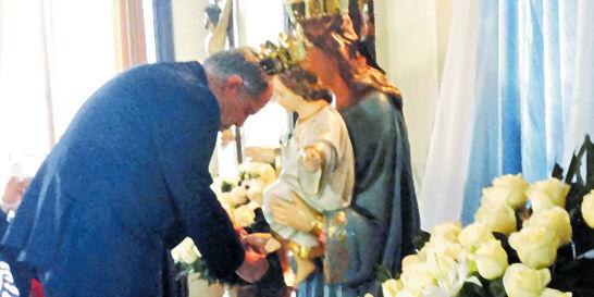 En secreto / La devoción de Ordóñez a María Auxiliadora