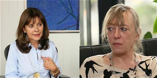 Marta Lucía Ramírez le responde a Nobel que criticó voto por el 'No'