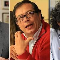 Petro, Fajardo y Vargas Lleras lideran intención de voto a Presidencia
