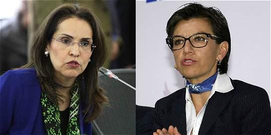 Duro choque entre Viviane Morales y Claudia López por adopción gay