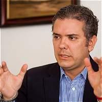 Iván Duque reitera que no ha tenido relación con Odebrecht