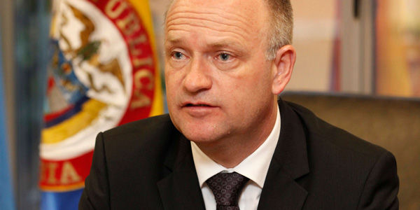 Bo Mathiasen, representante de la Oficina contra las Drogas y el Delito.