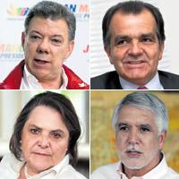 Lo que dicen los candidatos sobre el proceso de paz