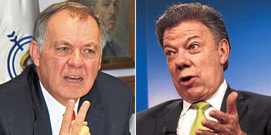 El trasfondo de la pelea entre Santos y Ordóñez por el proceso de paz