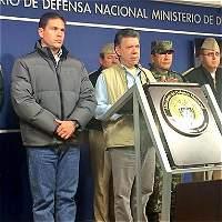 Esta fue la declaración de Santos al suspender los diálogos