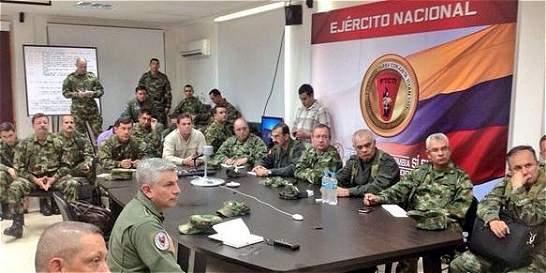 Continuarán operativos en Chocó para liberar a secuestrados