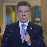 Santos exigió a las Farc liberación de secuestrados y voluntad de paz