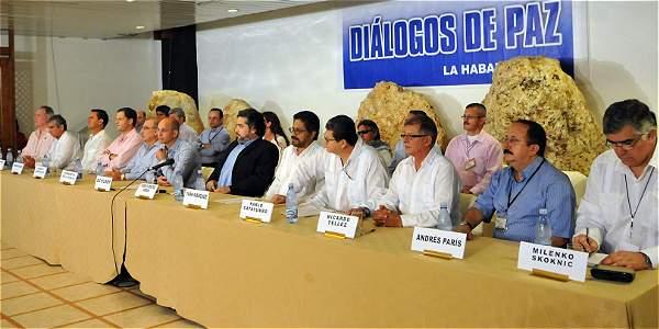 Al interrumpirse las negociaciones, las partes debatían sobre reparación de las víctimas