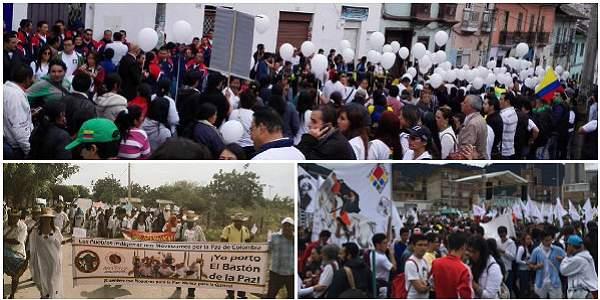 Colombia conmemora el 9 de Abril con marcha por la paz