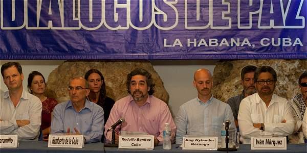 Cuba, Noruega, Chile y Venezuela, reafirman su compromiso de continuar contribuyendo  al avance de las conversaciones.