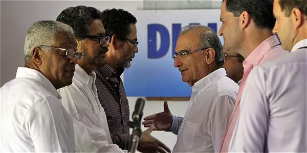 La negociación entre el Gobierno y las Farc se lleva a cabo en La Habana, Cuba.