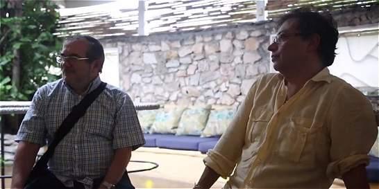 Exalcalde Gustavo Petro se reunió con las Farc