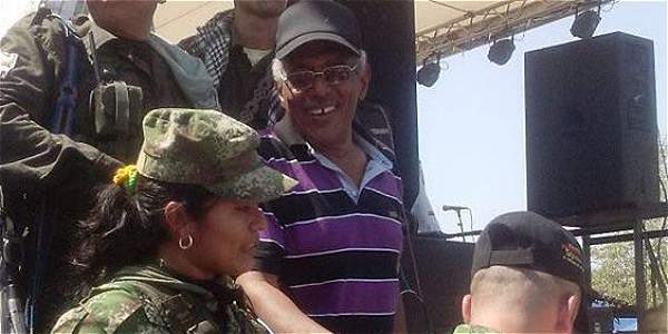 'Joaquín Gómez', miembro de las Farc.