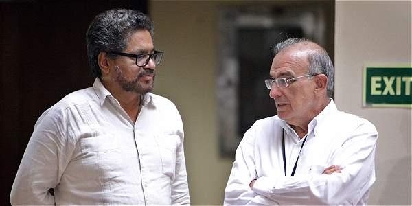 Amnistías e indultos que concedía el Presidente, ya suscrita la paz por los delegados de las Farc (Iván Márquez) y el Gobierno (Humberto de la Calle), los decidirá la JEP.