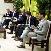 'El respaldo de John Kerry nos llena de optimismo': alias Timochenko