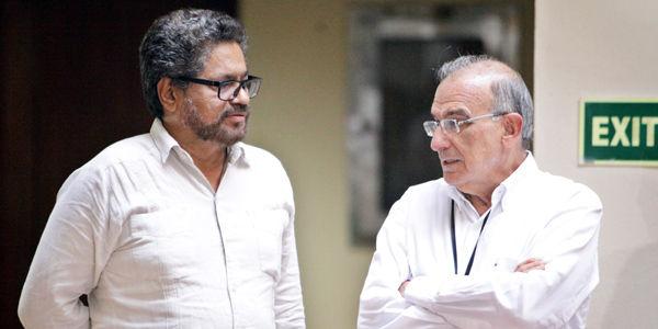 Márquez' y De la Calle explicaron esta semana por qué no se firmó la paz el 23 de marzo.