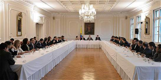 Presidente Santos prepara nuevo gabinete para tiempos de paz
