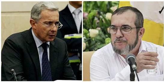 Sobre la carta de 'Timochenko', Uribe reitera críticas al proceso