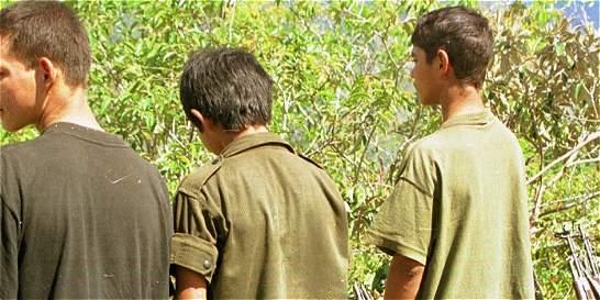Unicef dice que los primeros en salir de las Farc serán 21 menores