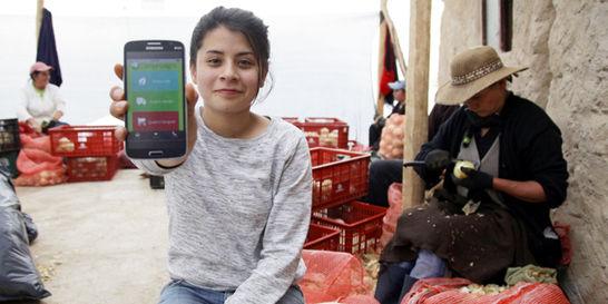 La familia que con una 'app' lleva paz al campo