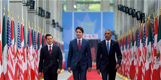 EE. UU., Canadá y México darán 'fuerte apoyo' a acuerdos de paz