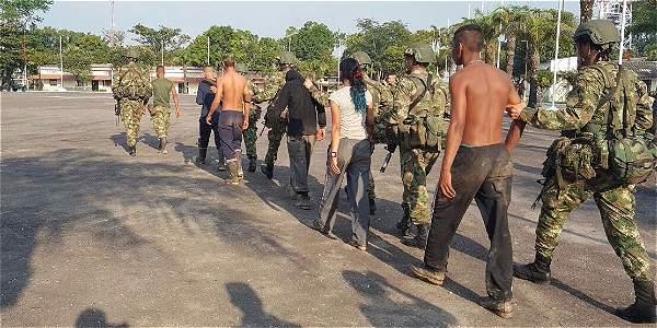 """""""Relámpago Rojo"""", la operación que abatió a casi 70 guerrilleros del ELN en menos de un año"""