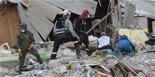 La histórica misión humanitaria a Ecuador, tras devastador sismo