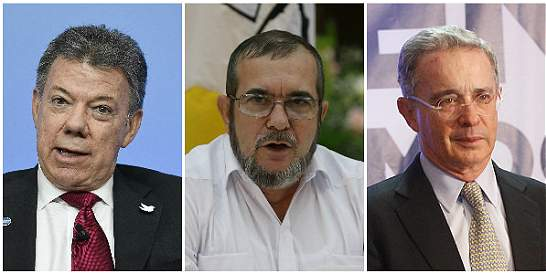 Carta a Santos, Uribe y 'Timochenko' para que se sienten a conversar