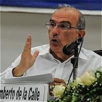'No sirve un acuerdo si no se avala por los colombianos': De la Calle
