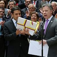 'Así se termina el conflicto armado con las Farc': Santos