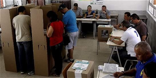 MOE alerta de riesgo en 4 departamentos en votación del plebiscito