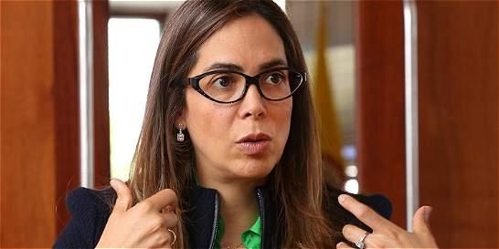 Gina Parody se dedicará a promover el 'Sí' en el plebiscito