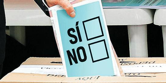 En campaña del plebiscito, partidos podrán usar logos en publicidad