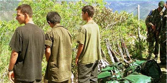 Niños en las Farc, capítulo de la guerra que empieza su fin el sábado