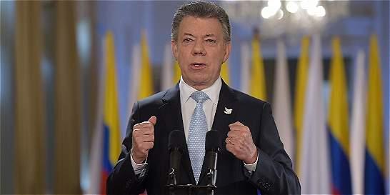 'Engañan quienes impulsan el 'No' para renegociar la paz': Santos