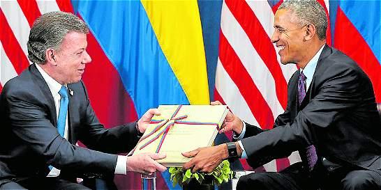 'Es un gran logro', afirmó Obama sobre el acuerdo de paz