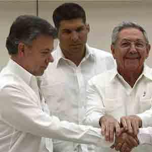 Les accords de paix entre le gouvernement colombien et les Farc