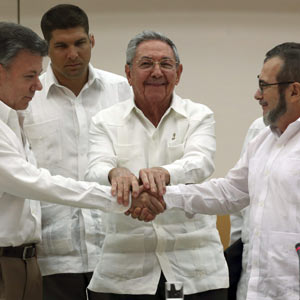 These are the agreements between the Colombian Government and the Farc