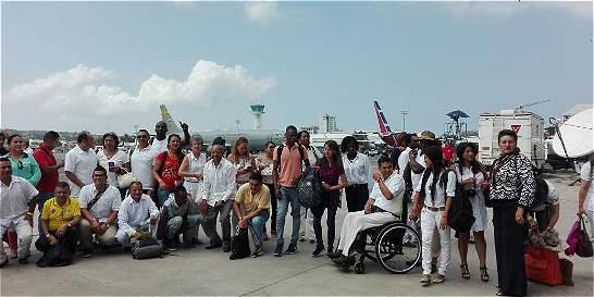 Víctimas ya están en Cartagena para la firma del Acuerdo de Paz