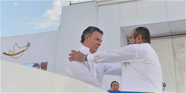 Discurso del presidente Santos en la firma de la paz
