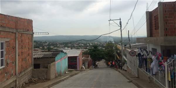 Nelson Mandela, el barrio de desplazados que busca la paz