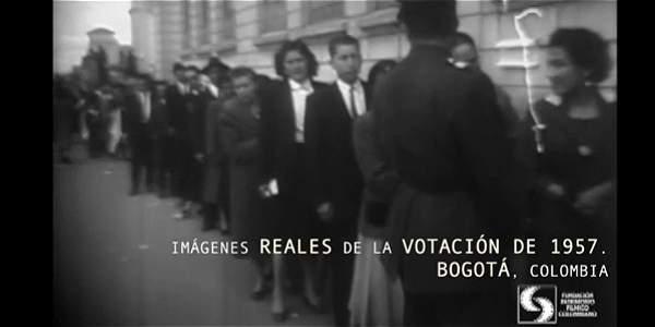 Así vivió Colombia su primer y único plebiscito